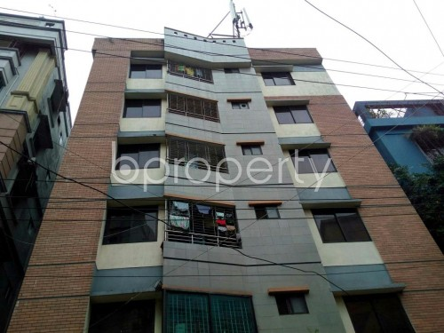 Front view - 3 Bed Apartment for Sale in Lalmatia, Dhaka - 1842355