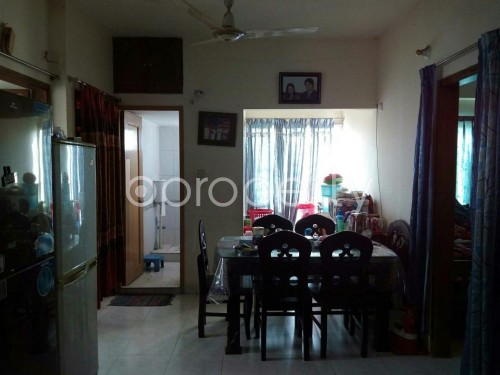 Dining area - 3 Bed Apartment for Sale in Mohammadpur, Dhaka - 1842904