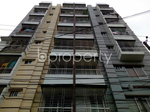 Front view - 3 Bed Apartment for Sale in Mohammadpur, Dhaka - 1843031
