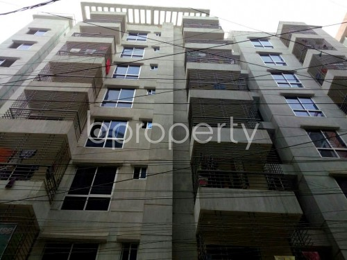 Front view - 3 Bed Apartment for Sale in Mohammadpur, Dhaka - 1843122