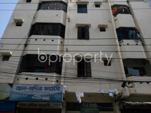 Front view - 2 Bed Apartment to Rent in Kuril , Dhaka - 1843200