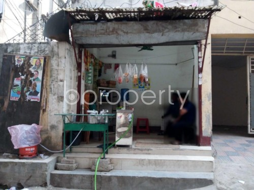 Front view - Shop for Sale in Sutrapur, Dhaka - 1843666