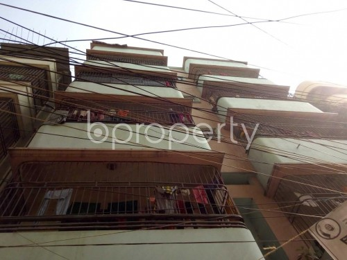 Front view - 4 Bed Apartment for Sale in Tejgaon, Dhaka - 1843828
