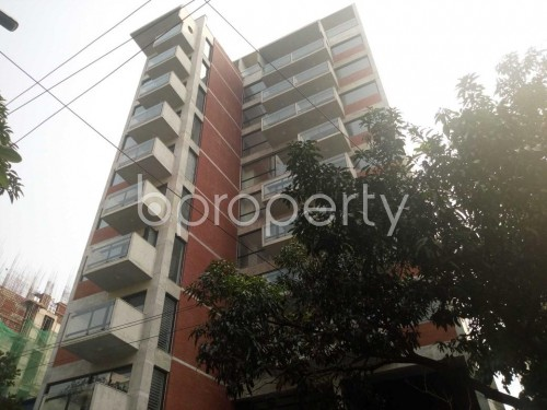 Front view - 3 Bed Apartment for Sale in Baridhara, Dhaka - 1844433