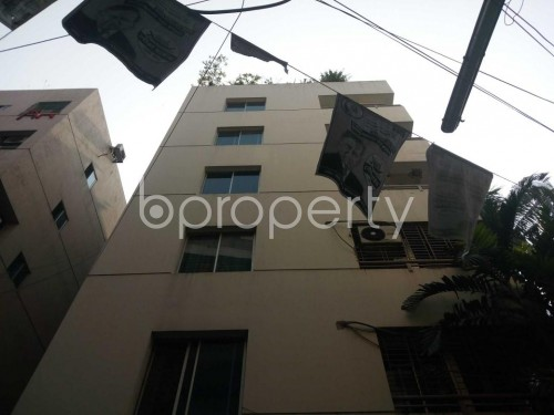 Front view - 3 Bed Apartment for Sale in Maghbazar, Dhaka - 1844453