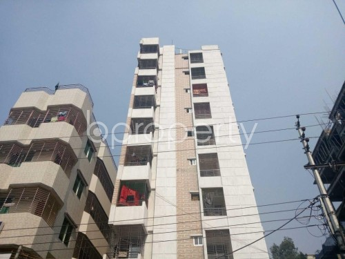 Front view - 3 Bed Apartment for Sale in Bashabo, Dhaka - 1845982
