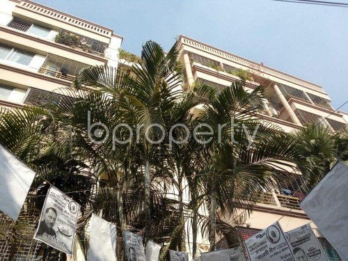 Front view - 3 Bed Apartment for Sale in Tejgaon, Dhaka - 1846005