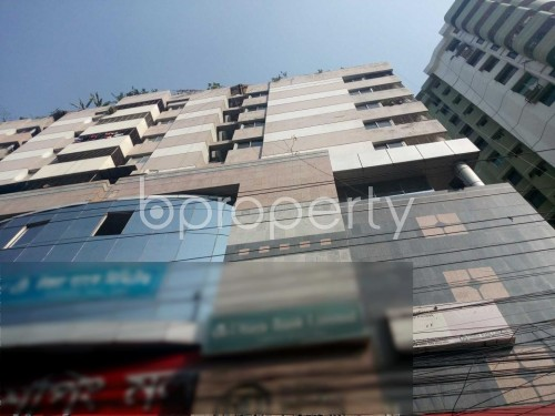Front view - Shop for Sale in Maghbazar, Dhaka - 1846277