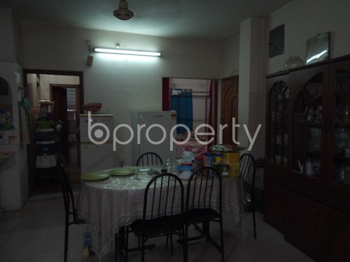 Dine/Dining - 3 Bed Apartment for Sale in Tejgaon, Dhaka - 1846442