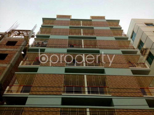 Front view - 3 Bed Apartment for Sale in Aftab Nagar, Dhaka - 1846940