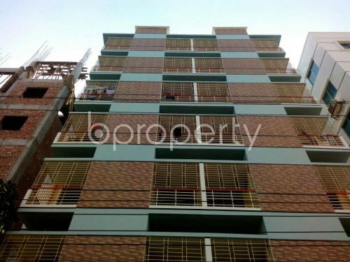 Front view - 3 Bed Apartment for Sale in Aftab Nagar, Dhaka - 1846941