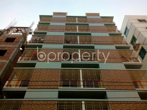 Front view - 3 Bed Apartment for Sale in Aftab Nagar, Dhaka - 1846942