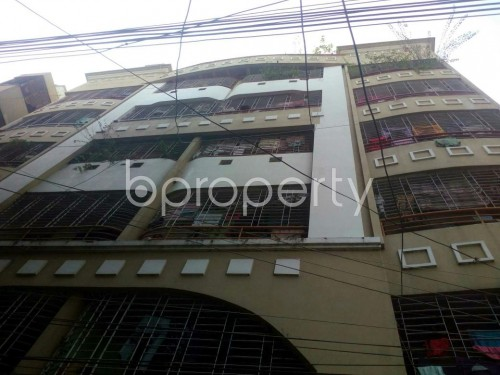 Front view - 3 Bed Apartment for Sale in Malibagh, Dhaka - 1847301