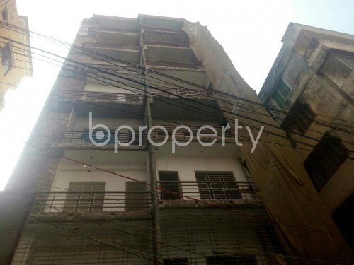 Front view - 3 Bed Apartment for Sale in Malibagh, Dhaka - 1847302