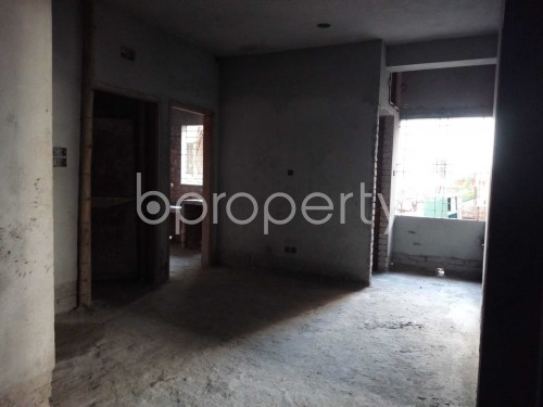 Dining area - 3 Bed Apartment for Sale in Maghbazar, Dhaka - 1847406