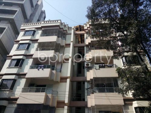 Front view - 3 Bed Apartment for Sale in Banani, Dhaka - 1847588