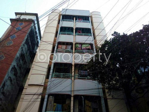 Front view - 2 Bed Apartment for Sale in Lalmatia, Dhaka - 1847532