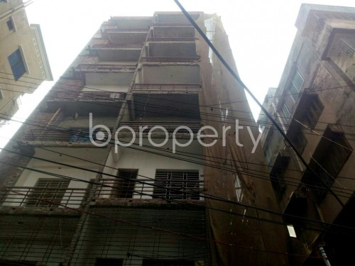 Front view - 3 Bed Apartment for Sale in Malibagh, Dhaka - 1847636