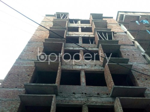 Front view - 3 Bed Apartment for Sale in Banasree, Dhaka - 1848231