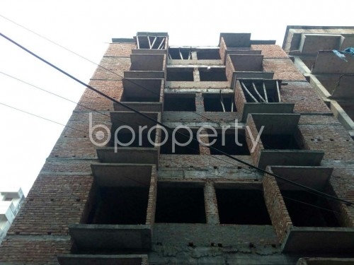 Front view - 3 Bed Apartment for Sale in Banasree, Dhaka - 1848232