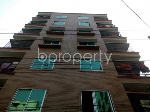 Front view - 3 Bed Apartment for Sale in Banasree, Dhaka - 1848234