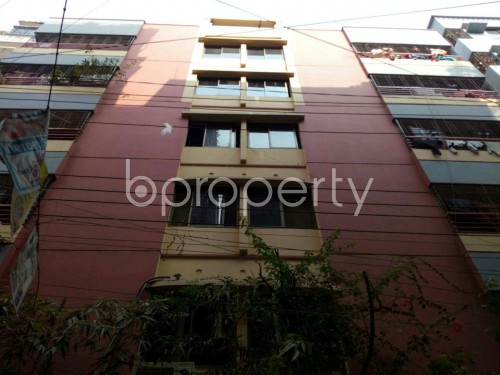 Front view - 3 Bed Apartment for Sale in Mohammadpur, Dhaka - 1849304