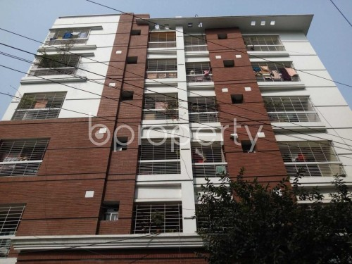Front view - 3 Bed Apartment for Sale in Lalmatia, Dhaka - 1849353