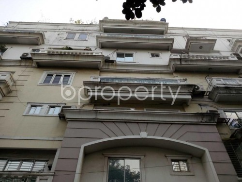 Front view - 3 Bed Apartment for Sale in Gulshan, Dhaka - 1849627