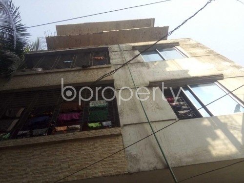 Front view - 2 Bed Apartment to Rent in Kuril , Dhaka - 1850189