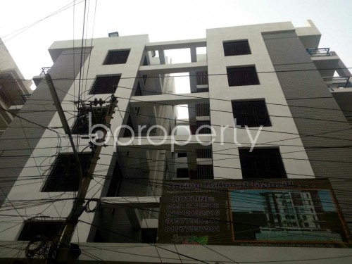 Front view - 3 Bed Apartment for Sale in Tejgaon, Dhaka - 1850536