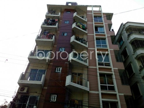Front view - 3 Bed Apartment for Sale in Adabor, Dhaka - 1850564