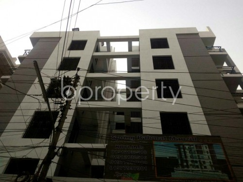 Front view - 3 Bed Apartment for Sale in Tejgaon, Dhaka - 1850584