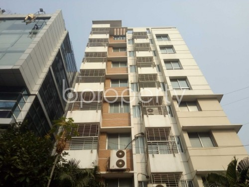 Front view - 3 Bed Apartment for Sale in Baridhara, Dhaka - 1850672