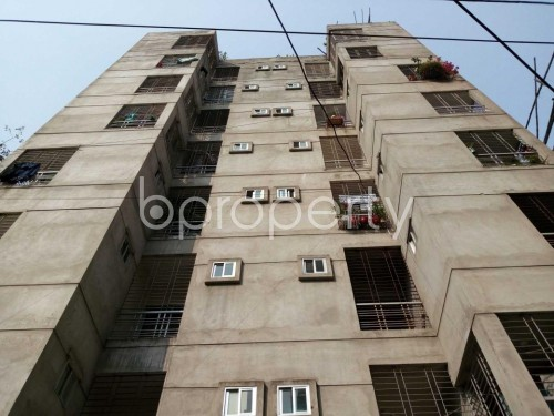 Front view - 3 Bed Apartment for Sale in Khilgaon, Dhaka - 1850881