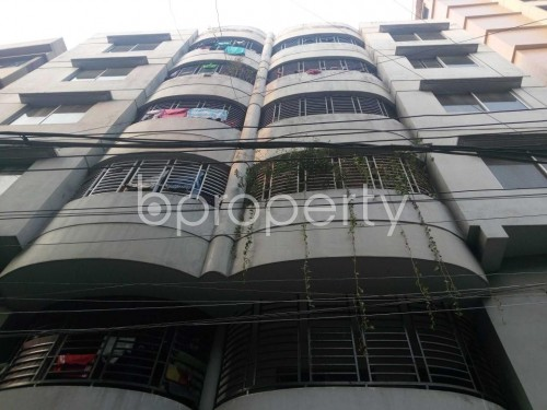 Front view - 4 Bed Apartment to Rent in Hatirpool, Dhaka - 1851041