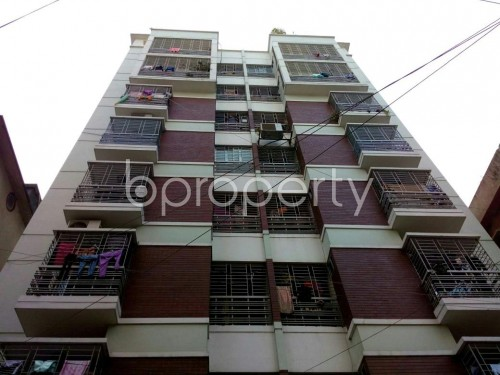 Front view - 3 Bed Apartment for Sale in Dhanmondi, Dhaka - 1851068