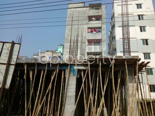 Front view - 4 Bed Apartment for Sale in Banasree, Dhaka - 1851207