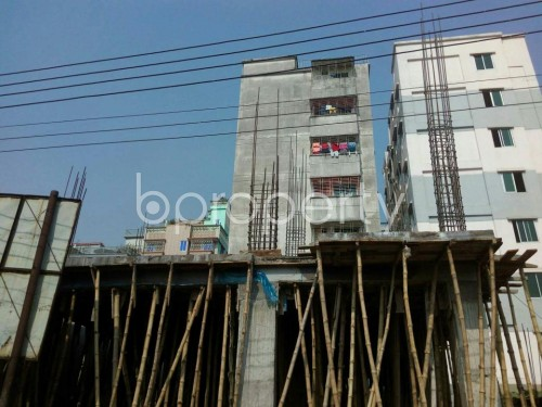 Front view - 4 Bed Apartment for Sale in Banasree, Dhaka - 1851208