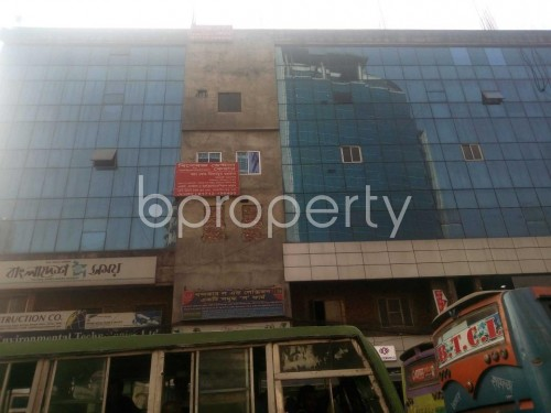 Front view - Office for Sale in Banglamotors, Dhaka - 1851318
