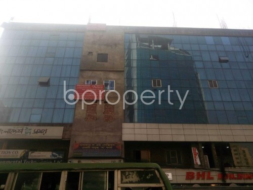 Front view - Shop for Sale in Banglamotors, Dhaka - 1851323