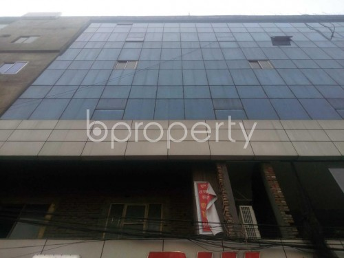 Front view - Office for Sale in Banglamotors, Dhaka - 1851327