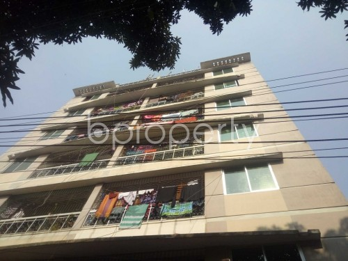 Outside view - 2 Bed Apartment to Rent in Nadda, Dhaka - 1851547