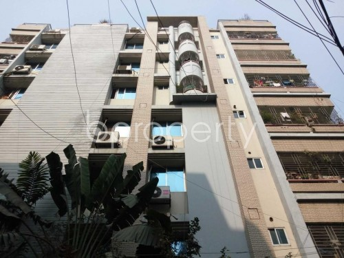 Front view - 3 Bed Apartment for Sale in Lalmatia, Dhaka - 1851597
