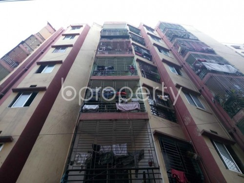Front view - 2 Bed Apartment for Sale in Maghbazar, Dhaka - 1851937