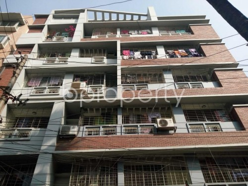 Front view - 3 Bed Apartment for Sale in Mohammadpur, Dhaka - 1852091