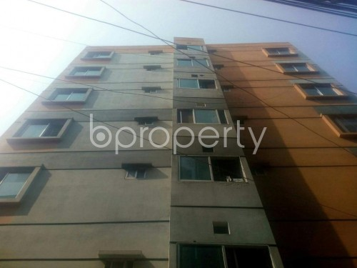 Front view - 3 Bed Apartment for Sale in Rampura, Dhaka - 1852124