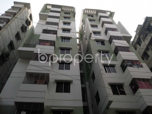 Front view - 3 Bed Apartment for Sale in Shyamoli, Dhaka - 1852679