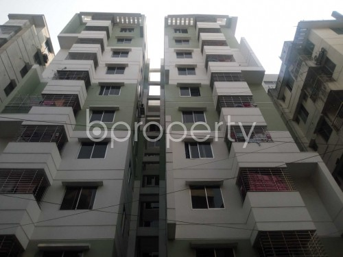 Front view - 3 Bed Apartment for Sale in Shyamoli, Dhaka - 1852681