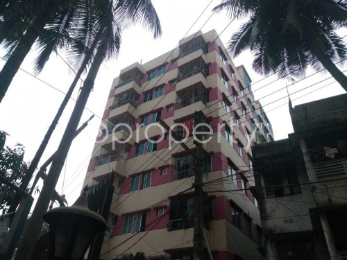 Front view - 2 Bed Apartment for Sale in Maghbazar, Dhaka - 1853160