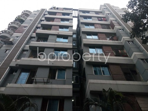 Front view - 3 Bed Apartment to Rent in Lalmatia, Dhaka - 1853370